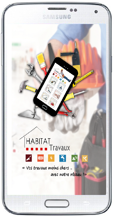 application habitat travaux android samsung