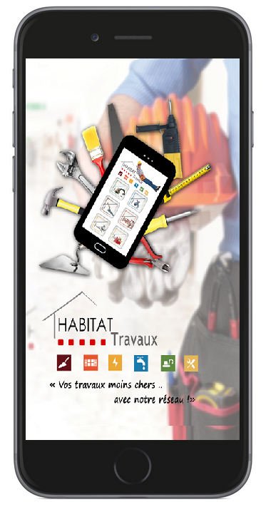 application habitat travaux iphone